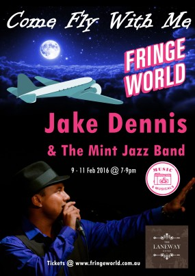 FRINGE 2016 Come Fly With Me Poster